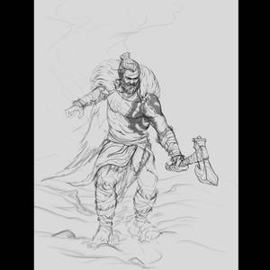 Bear Warrior - Lines - Stage 1