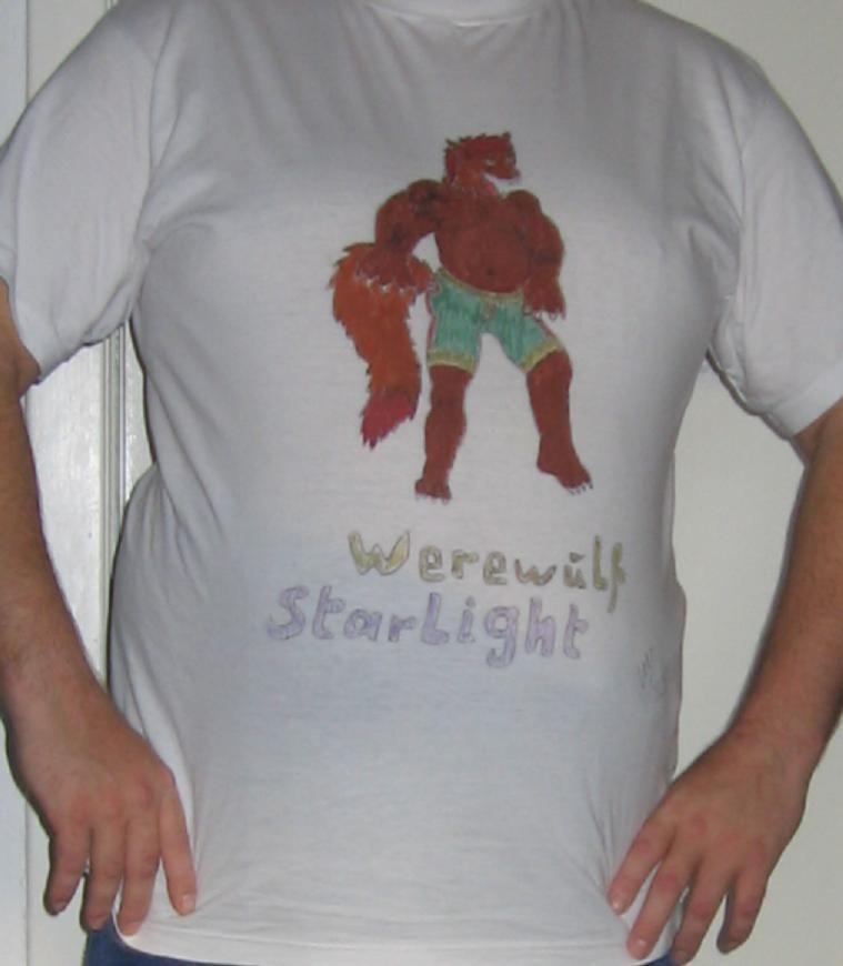 Werewulf Starlight T-shirt