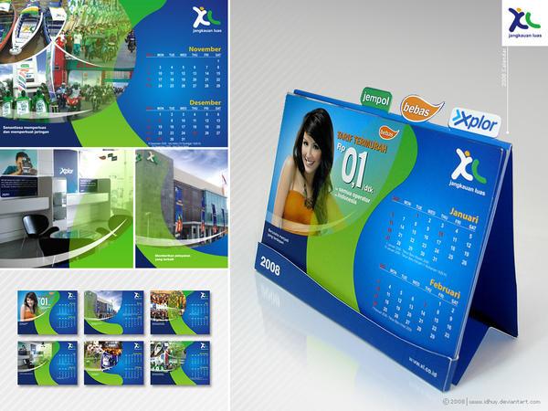 xl calendar