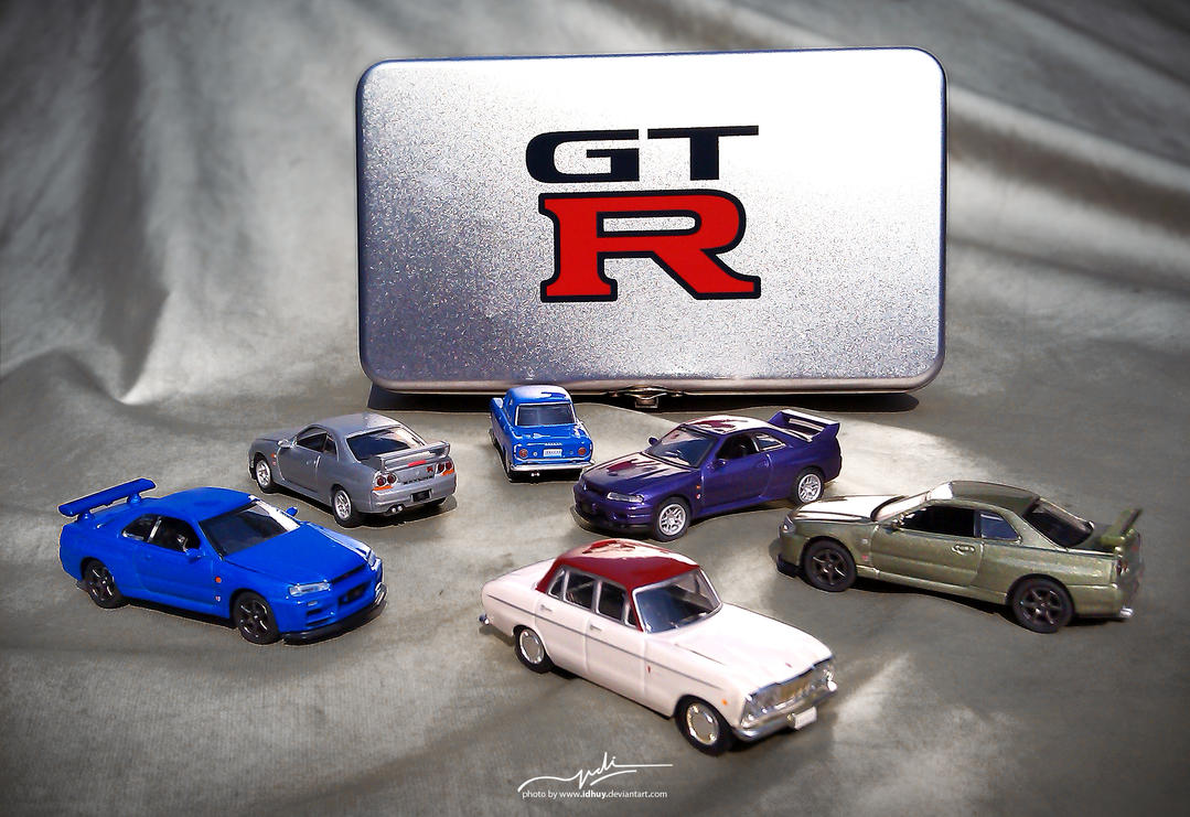 all GT-R is mine by idhuy