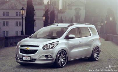 Chevrolet Spin Family Man Stance