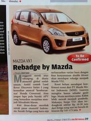 Redesign Face of Mazda VX-1 on Autobild Indonesia