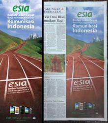Esia Corporate Print ad