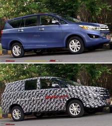 Prediction render of Toyota Innova 2016