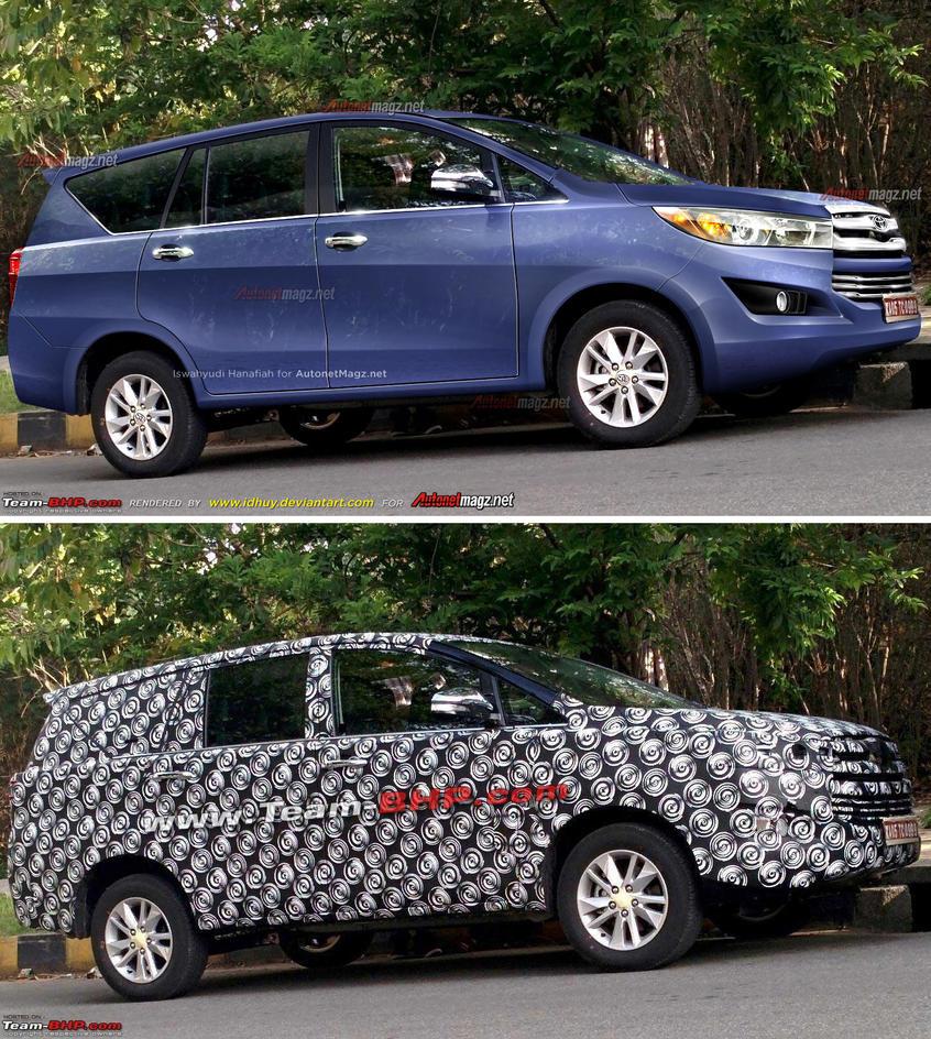 Prediction render of Toyota Innova 2016 by idhuy