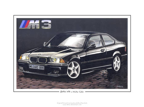 BMW M3 in Water Color