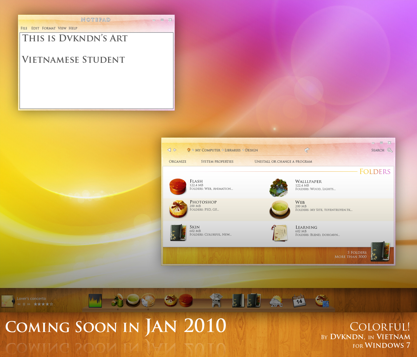 Colorful for Windows 7