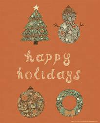 Happy Holidays by AmAndArInI