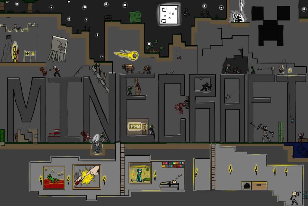 Minecraft by cmdrFaust
