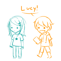 Cheezit and Lucy Animation 8D by NiiCapped
