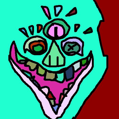 Staincil: Eza Mutt by MessyPaperCut
