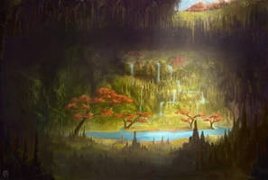 Underground Haven by Meteorskies