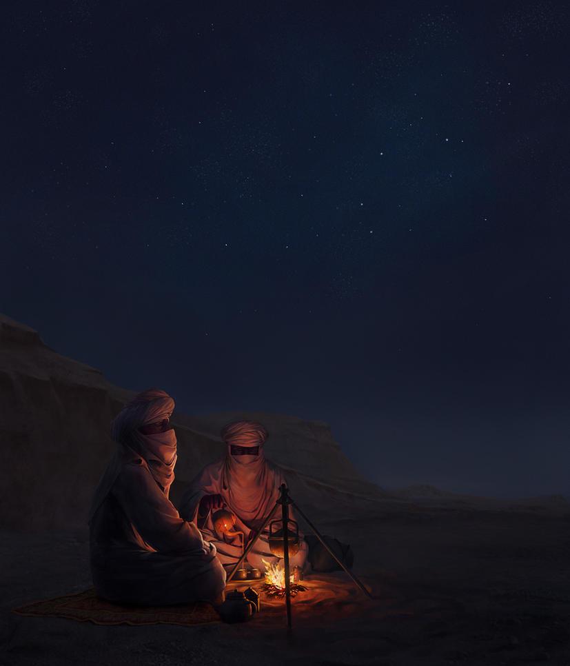 Oh look, stars... by Meteorskies