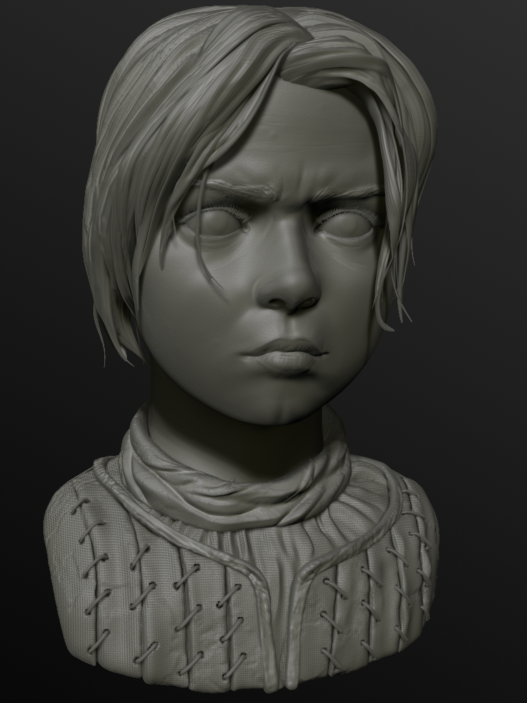 Arya Stark by Papercliphouse