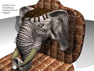 elephant book support by darkester