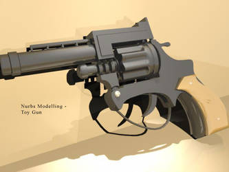 Toy gun by darkester
