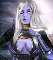 Mass Effect - Tali'Zorah by xkalipso