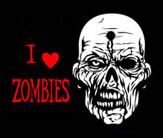 I Heart Zombies by JamesHall2