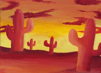 Desert Heat by twirler56