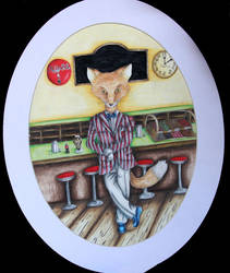 Mr. Fox's Soda Shop by twirler56