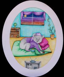 Sleepy Koala by twirler56