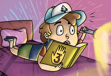 Dipper Pines by twirler56