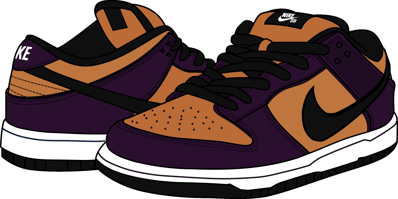 super popular c09df 2ef36 Nike SB Dunk Low Goofy Boy Vector by junuary1234 on DeviantArt