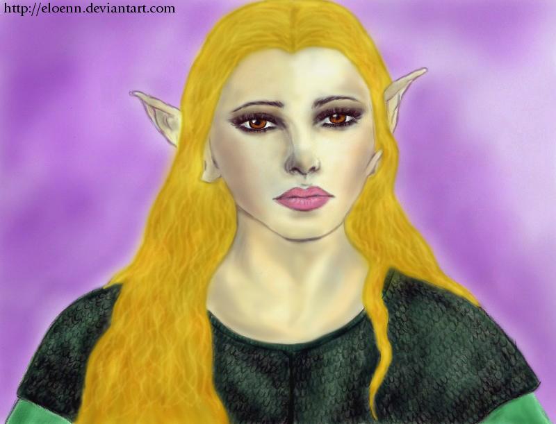 Dragon Age: Dalish elf Warden by Eloenn on DeviantArt