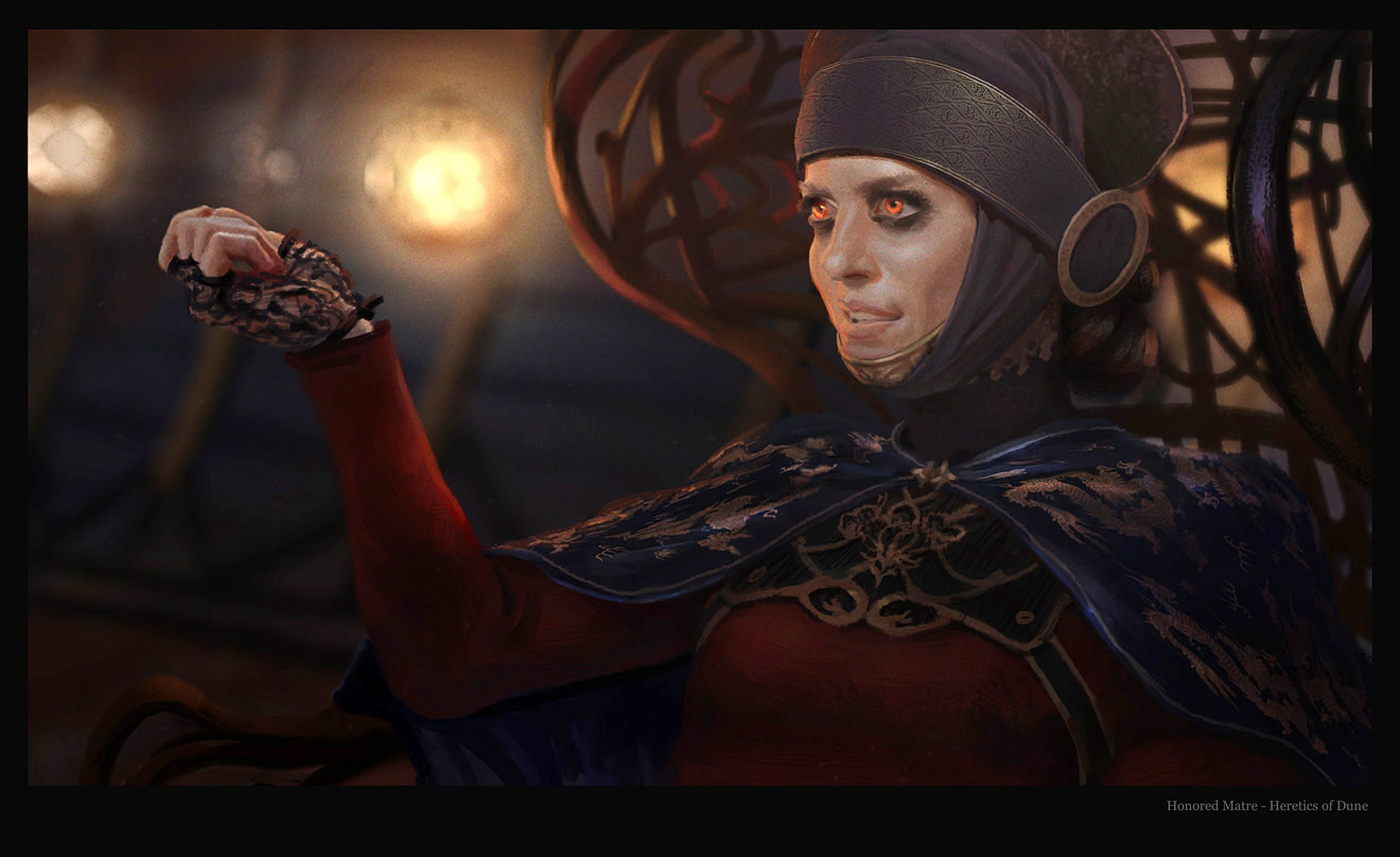 Dune Honored Matre by guchi on DeviantArt