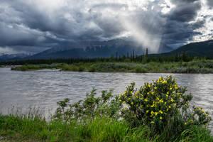 Athabasca Cloud Break by eegariM