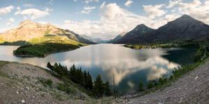 Waterton Lake Panorama