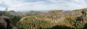 Affensteine Panorama