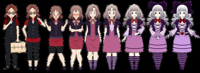 Kisekae - A Precious Doll [100 Watcher Special!] by OrianaAnima
