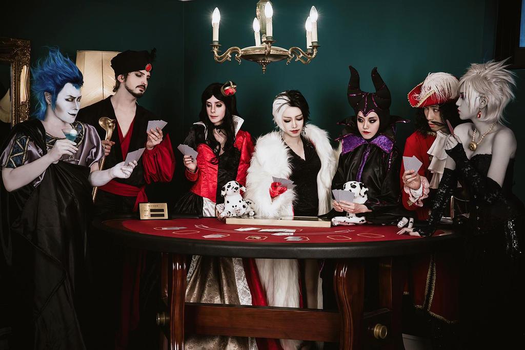 Disney Villains - Queen of Hearts