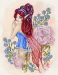 fairy in corset