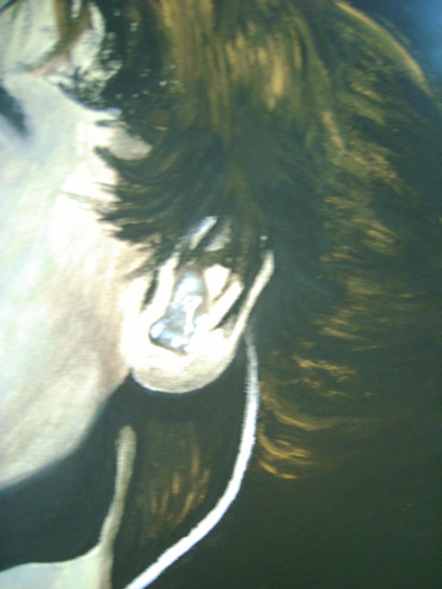 Dying Felt With Acrylic Paint