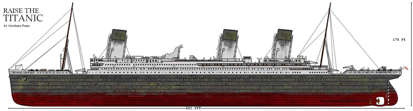 Ship Raise The Titanic By Lupin3ITA On DeviantArt