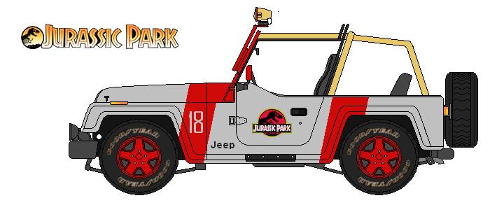 Jeep Jurassic Park By Lupin3ita On Deviantart