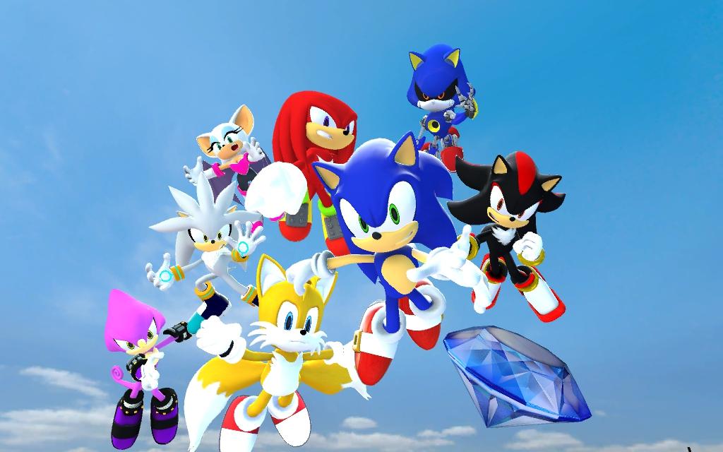 Sonic Rivals Скачать Торрент - фото 10
