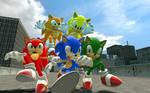 Sonic Recolors!