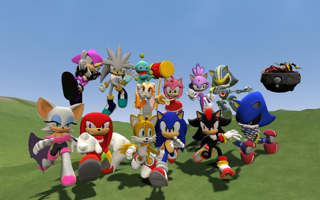 Sonic Rivals Скачать Торрент - фото 11
