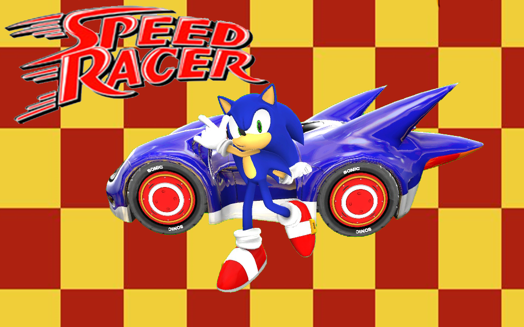 Speed Racer Sonic by Nibroc-Rock