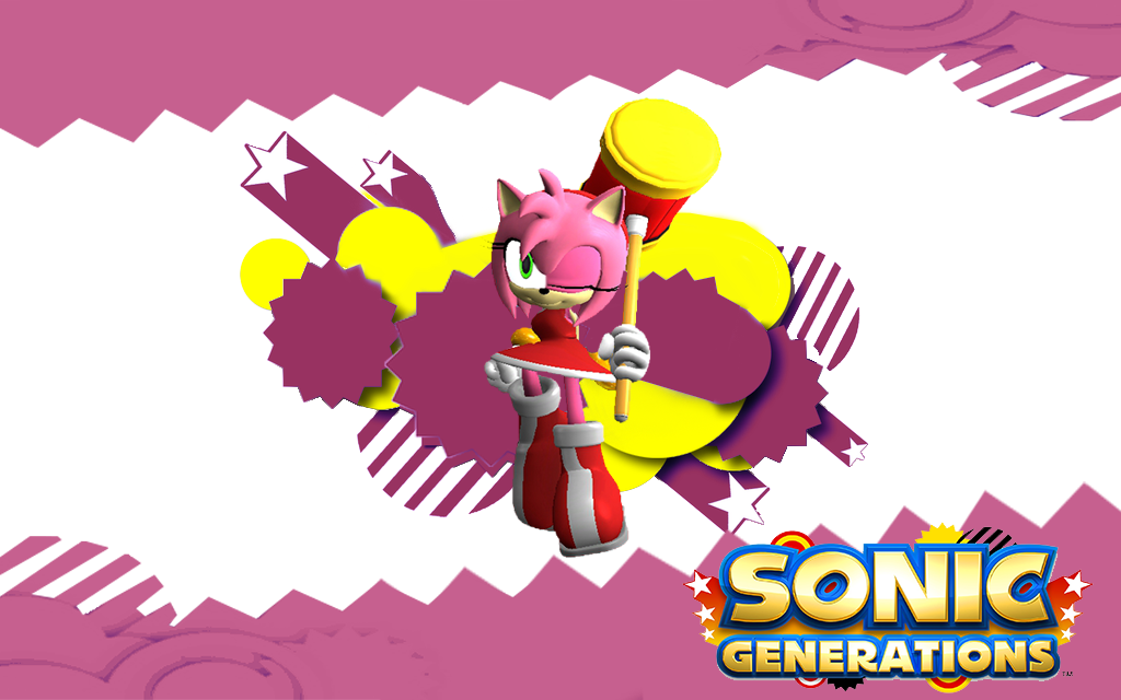 Classic Amy Rose Sonic Generations