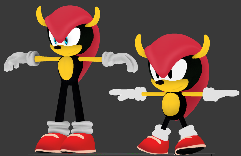 Mighty the armadillo sonic boom