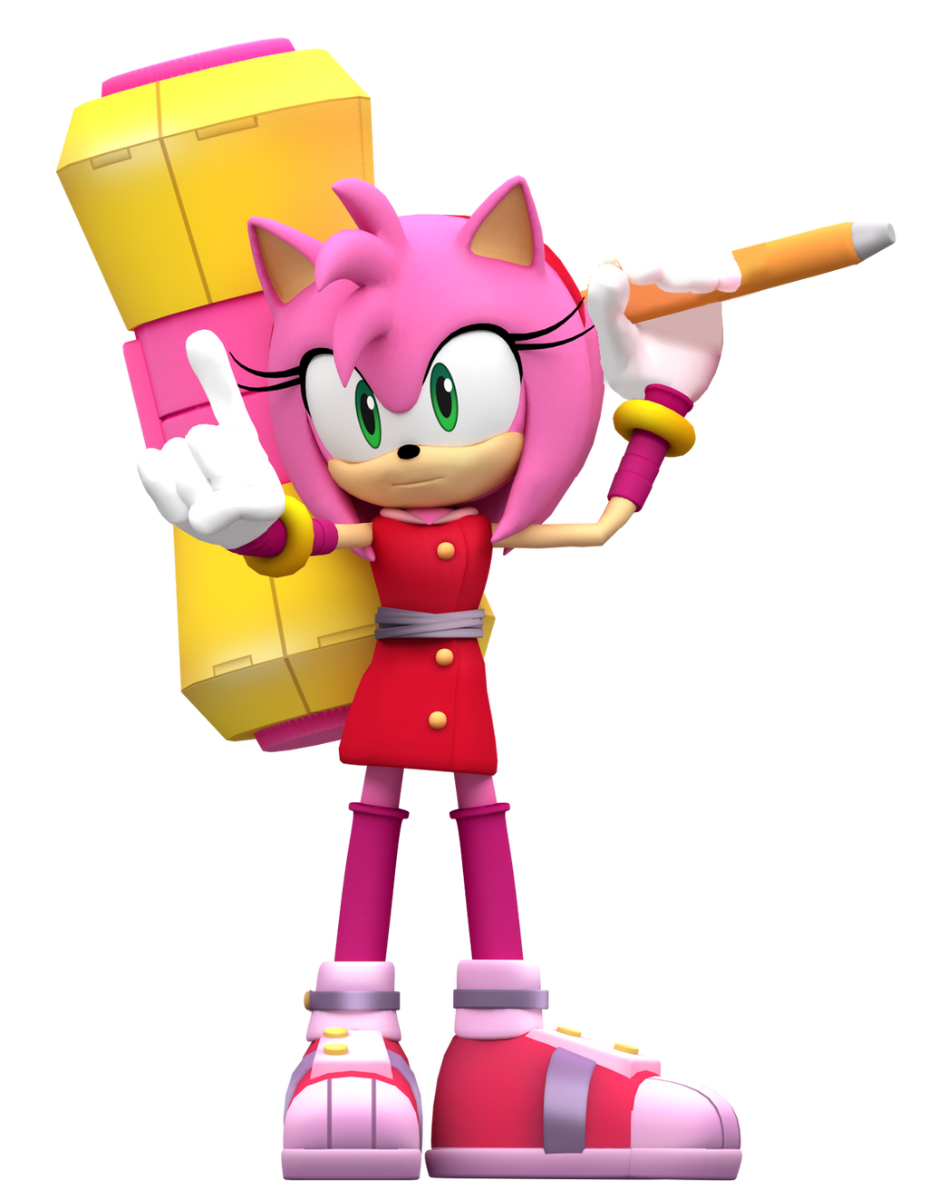 Sonic boom Amy Render! by Nibroc-Rock on DeviantArt Sonic Boom Amy