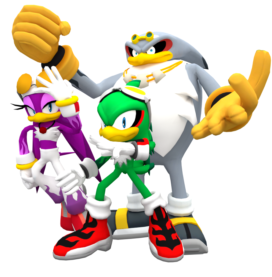 Jet Wave and Strom Render by NIBROCrockJet And Wave