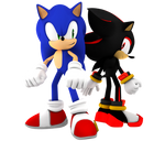 Sonic And Shadow Fight Back To Back
