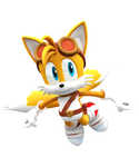 Sonic Boom: New Tails Render