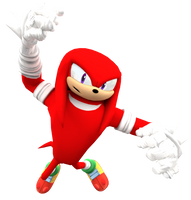 Sonic Boom: New Knuckles Render by Nibroc-Rock
