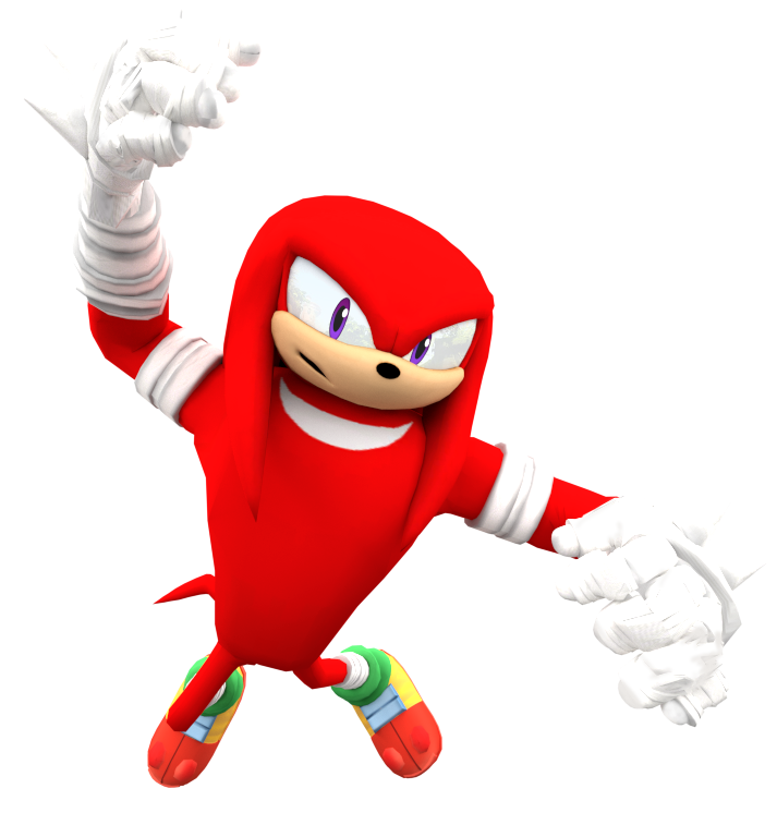 Sonic Boom: New Knuckles Render by Nibroc-Rock on DeviantArt